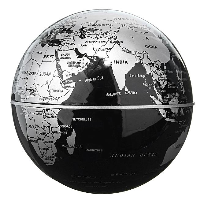 Map Of Uk On Globe.Generic World Map Decoration Magnetic Levitation Floating Globe Uk