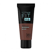 Maybelline Fit Me Matte And Pore less Foundation - Espresso 365