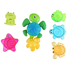 Baby Turtle Squirt Water Bath Spray Shower Toy Set - Colormix