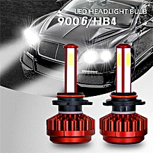 9006/HB4 980W 147000LM All-In-One LED Car Headlight Conversion Kit Lamp Bulb High/low Beam 6000K White 9-36V