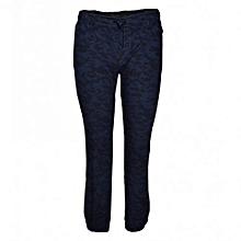 Blue Camo Jogger Pants
