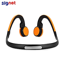 Signet - BK Bluetooth 4.1 Bone Conduction Headphones-ORANGE