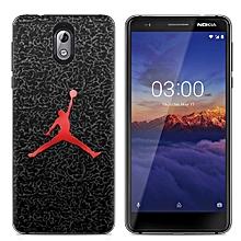 Nokia 3.1 (3PCS X Phone Case) Silicone Case TPU Anti-knock Phone Back Cover - Multi-color(Dunk+Captain America+Phoenix Feather)