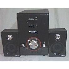 Sub-Woofer V503D 2.1 CH 5000 P.M.P.O - Black