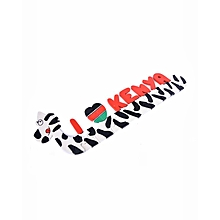 I Love Kenya' Zebra Puzzle