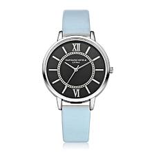 Luxury Women's  LVPAI Wrist Watches  Watches Women Quartz Wristwatch Clock Ladies Dress Gift Watches SB-Sky Blue