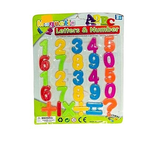 Buy Duka Letu Childrens Colourful Magnetic Educational Numbers And