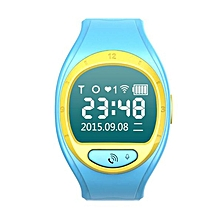 Y1 Smart Phone Watch Mobile Phone Positioning Children Card Wifi/Gps On Behalf Of A New Upgrade  (Color:Blue)
