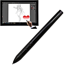 P80 Wireless USB Digital Pen Stylus Rechargeable Mouse Digitizer Pen For Huion Graphics Tablet(Black)