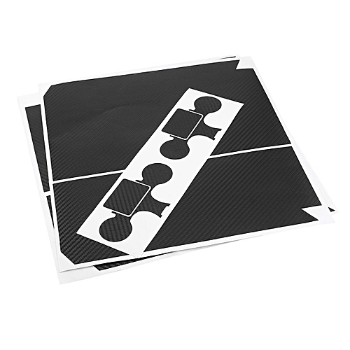 CO Vinyl Sticker Console Controller Skin Covers Decal Games Supplies For  PS4-black
