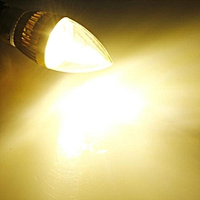 E27 Dimmable 6W High Power LED Chandelier Candle Light Bulb Warm White