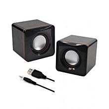 Multimedia Speakers - 2.0 USB - Black