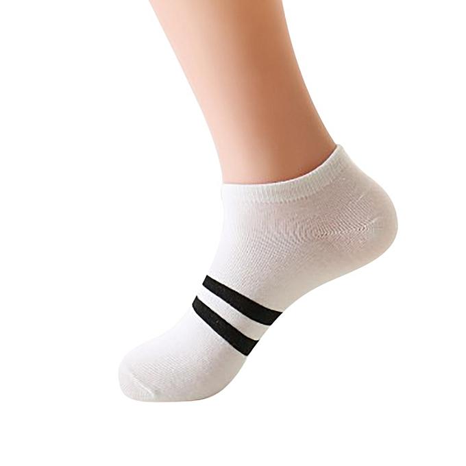 33828869bac Eissely Unisex Cute Retro Stripe Fashion Men Sock Comfortable Socks ...
