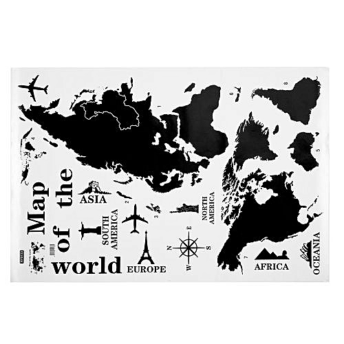 Buy allwin ay9133ay9134 world map wall stickers removable sticker ay9133ay9134 world map wall stickers removable sticker home office decoration gumiabroncs Image collections