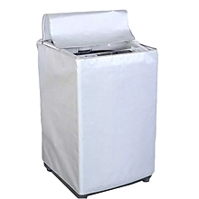 Top Load Washing Machine Anti-Dust Cover Protector - Silver