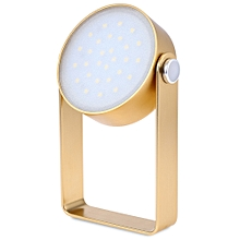 2W 29 LEDs Outdoor Multi-functional Waterproof Desk Light - Gold