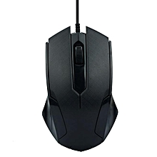 1200DPI USB Wired Optical Gaming Mice Mouse For PC Laptop BK