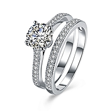 925 sterling silver Women Wedding & Engagement Ring