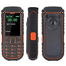 A5000+ Mobile Phone, Dual SIM, 4400mAh Battery,  1.77 inch, SC6531DA Chipset, 21 Keys, LED Flashlight, FM, TF, Bluetooth (Orange)