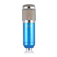 BM - 800 Professional Condenser Microphone Studio Broadcasting Recording-Blue