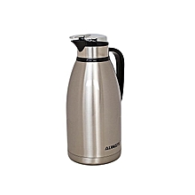 2L Unbreakable Vacuum Thermos Flask - Stainless Steel .
