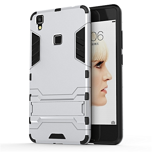 new product bc2bc 2517f For VIVO V3 MAX Case Luxury Hybrid Silicone Iron Man Armor Case Cover For  Vivo V3 Max Full Protect Phone Housing Shock Protection Back Cover  Handphone ...