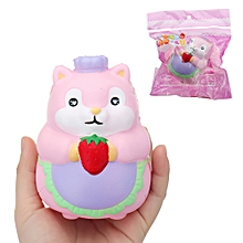 Chef Hamster Squishy 11*8*8cm Slow Rising With Packaging Collection Gift Soft Toy-
