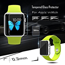9H Hardness Tempered Glass Membrane Film Screen Protector For IWatch Apple Watch 38mm