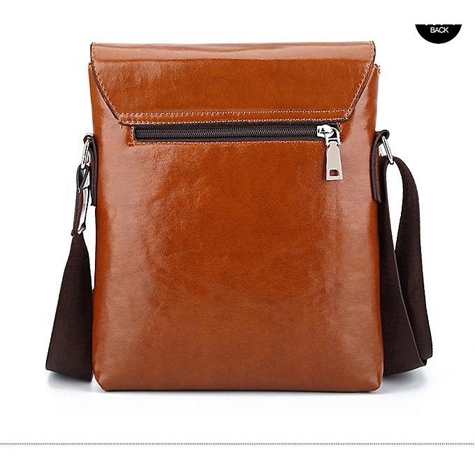 29f6542ea08 ... HENGSHENG Fashion mens shoulder bag with high quality pu leather men  messenger bags of JEEP men ...