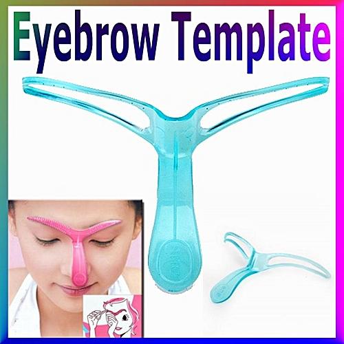Buy Generic Professional Eyebrow Template Stencil Shaping Diy Tool