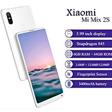 Xiaomi Mi Mix 2S 4G Phablet MIUI 9 Qualcomm Snapdragon 845 Octa Core 6GB + 64GB - WHITE
