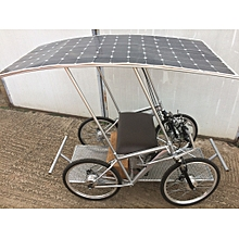 Solar E-Cycle all wheel drive solar powered light electric vehicle