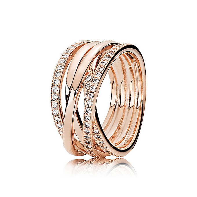S in Pan's house 925 silvers hand over to tie up ring pure silver a ring  many shining personality ring ring the female quit to fold to wear index