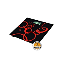 RM/285-  Bathroom Scale - Black & Red