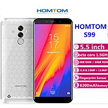 S99 4G Phablet 5.5 inch Android 8.0 4GB RAM + 64GB ROM-WHITE