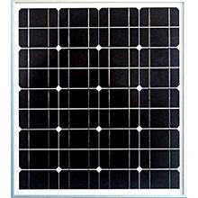 50 Watts 12 Volts  Mono Crystalline Solar Panels