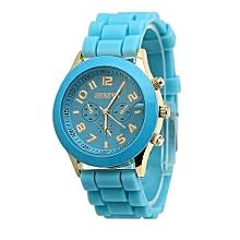 Tectores Unisex Boys Girls Geneva Silicone Jelly Quartz Wrist Watch