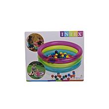 Classic 3-Ring Baby Ball Pit: 48674: Intex