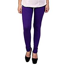 Purple comfortable leggings