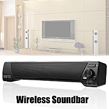 TV Sound Bar Home Theater Subwoofer Soundbar Bluetooth Wireless AUX USB Speaker Black/White