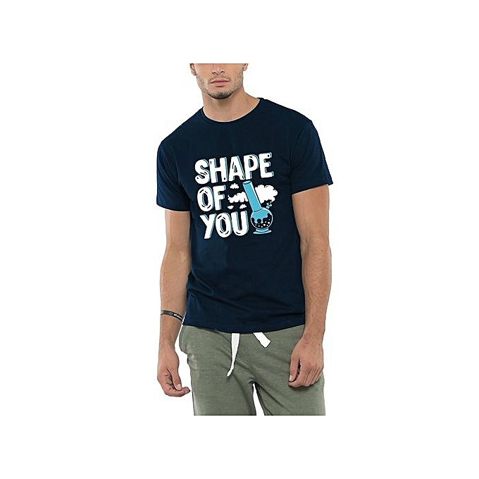 36e2eb55d Personalized T-shirt Bewakoof Shape Of You Men's Cotton Half Sleeve Printed  Funny T-