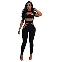 fe821b1b89d Nice Women  039 s Jumpsuits Sexy Leggings Black Jumpsuit Club Outfit