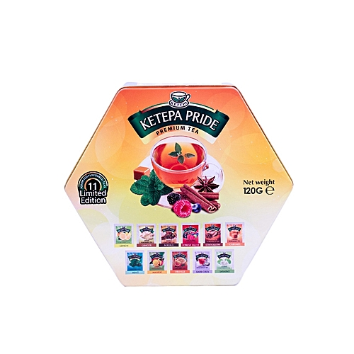 TEA PRIDE HEXAGONAL PACK 120g