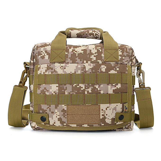 Men Nylon Messenger Shoulder Bag Military Tactical Outdoor Camping Briefcase 16f978a1c45e8