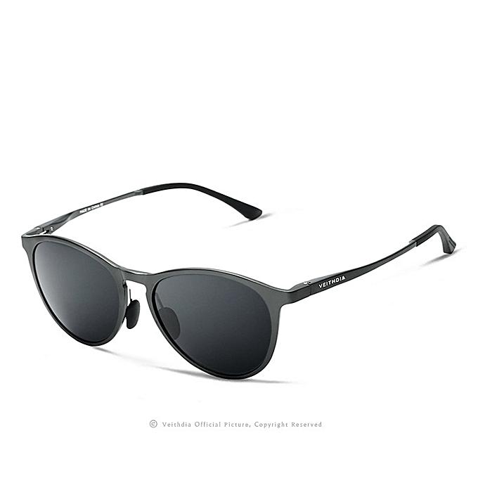 ee3179092e VEITHDIA Retro Aluminum Magnesium Sunglasses Polarized Lens Vintage Eyewear  Accessories Sun Glasses Men Women 6625