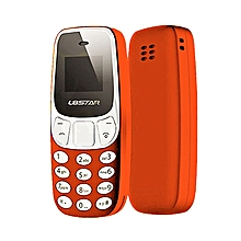 Mini Bluetooth Phone Worlds Smallest Mobile Changer Dual Sim L8Star BM10 U8P3 orange