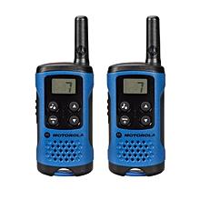 Motorola TLKR T41 2 Way Walkie Talkie (Blue) (Export sets) [ETA 7 working days]