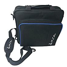 CO Shock Proof Game Console Storage Bag Travel Handbag Shoulder for PS4 Pro-black