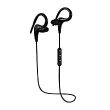 BT-O1 Sport Bluetooth Earphone SweatProof Wireless Hifi Earbuds With Mic Black