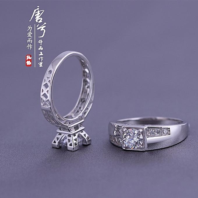 Buy Fashion Parisian Tower Ring Female Ai Thin Er Iron Pagoda Lovers